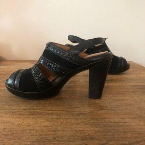 Nurture Hope Peep Toe Heeled Sandals Size 7.5